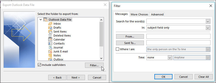 selectionfilter
