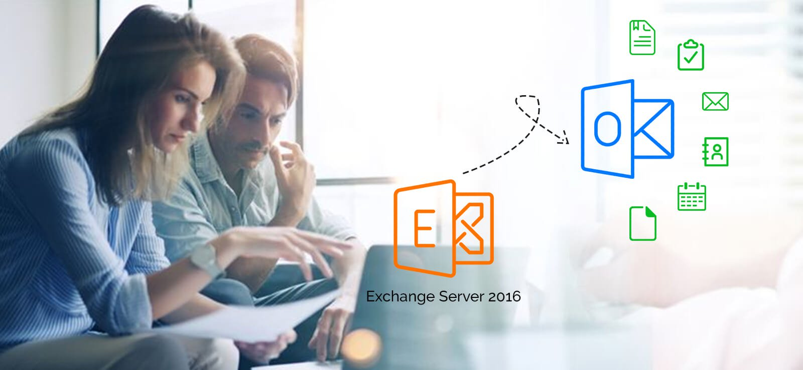 Exporting Exchange 2016 mailboxes from database to Outlook