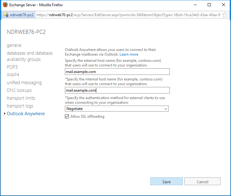 Exchange 2016 Ecp Page Cannot Be Displayed