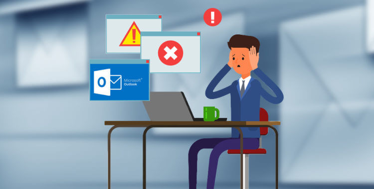 how to fix restriction microsoft outlook