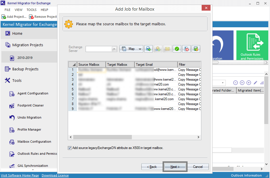 Step-by-Step Guide for Exchange 2010 to 2019 Migration