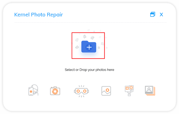 Select a single or multiple corrupt images