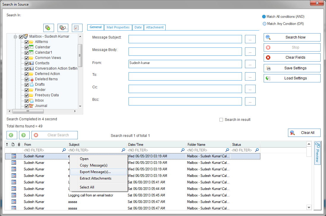 Import, Export PST, EDB to Exchange and Office 365 Mailboxes