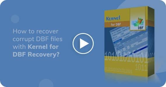 Kernel for DBF Database Repair