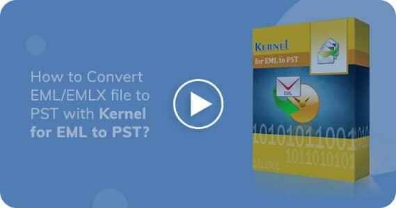 Kernel for EML to PST Converter