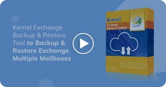 Kernel Exchange Backup & Restore