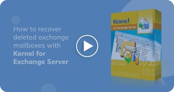 Kernel for Exchange Server