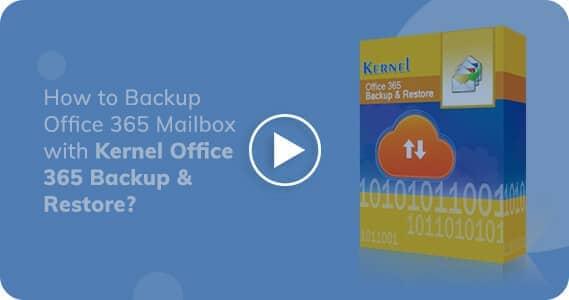 Kernel Office 365 Backup & Restore