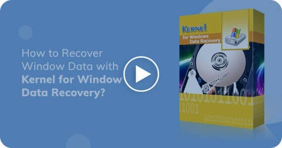 Kernel for Windows Recovery