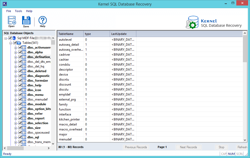 sql database recovery software with crack