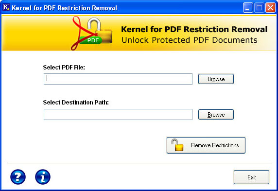 Pdf Key Generator Remover Kernel Restriction For